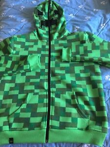Youth size XL Minecraft hoodie