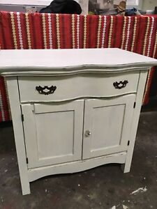 Antique Rustic Washstand