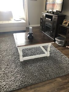Square Wooden coffee table!