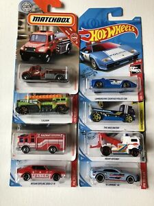 Hot Wheels Rescue Vehicle Collection