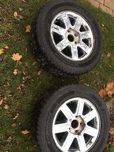 Dodge/Jeep/Chrysler 18' Winter Wheels with 265/60/18 Tire