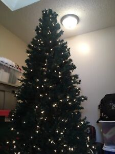 Self lit(pre wired) tree