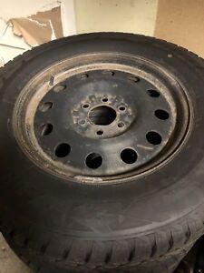 pneu d'hiver 18pouce Ford camion f-150  255-70-r18