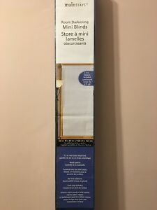 "White Blinds 66""x 64"" (new in box)"