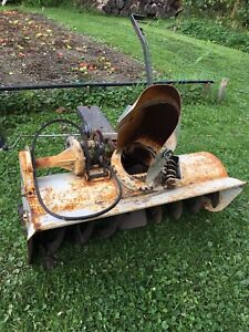 Sears roper garden tractor snowblower
