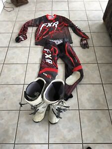 FXR riding gear