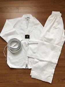 Child's Tae Kwon Do outfit