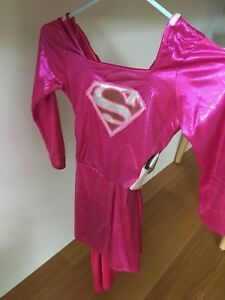 Costume d'Halloween Super Man fillette