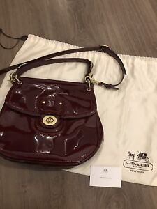 Authentic brand new coach 2 ways bag