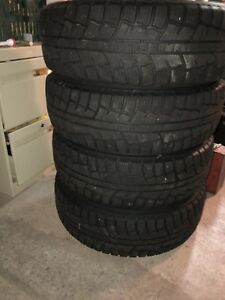 Winter snow tires 5x108