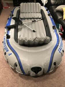 Excursion 4 person inflatable boat