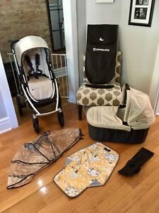 Like New UPPAbaby Vista Stroller Package