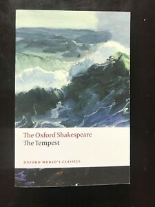 THE TEMPEST (Oxford Shakespeare) Dalhousie