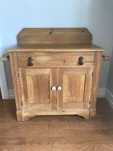 Antique Dry Sink / Cupboard / Dresser