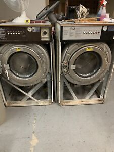 Old Commercial hotel motel laundry machines