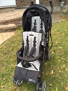 3DTwo Lightweight Tandem Stroller