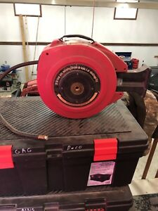 Air hose reel, auto rewind, 50 ft