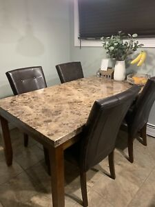 Kitchen table , with chairs $300