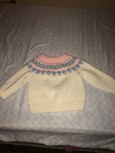 Hand made sweater girls size 1-2t $2
