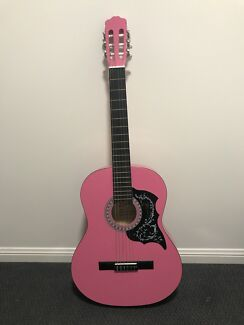 Pink Adult Size Beginners Quitar