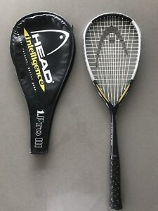 Head Intelligence iPro3 Squash Racquet