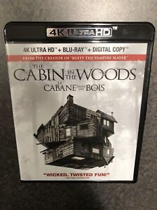 Cabin in the woods 4K BluRay