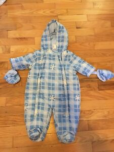 0-3 month snowsuits