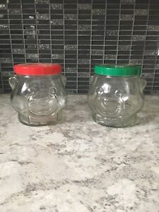 Vintage 1989 KRAFT PEANUT BUTTER GLASS JAR