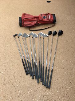 Bronsan Golf Clubs in great condition rarely used.
