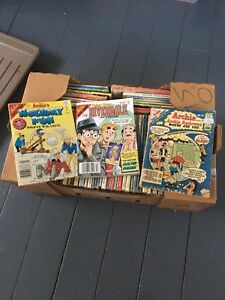Box of Archie Comics & Betty and Veronica. 60 in total