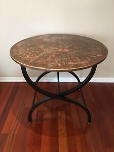 Hooker Furniture COPPER TABLE Round Dining Table - unique