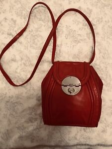 Mimco Offbeat Hip Bag in Russian Red