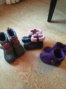 Toddler Girls Size 9 Boots