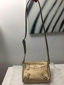 New Guess golden crossbody bag