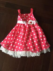 Girl spring party dress