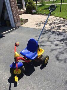 Kettler Toddler Tricycle with Pushbar