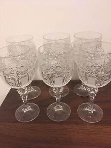 Hungarian Crystal Goblets