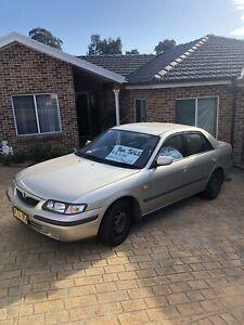 1999 Mazda 626 Limited 4 Sp Automatic 4d Sedan