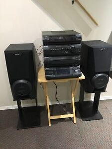 Sony LBT-D590 home stereo entertainment system
