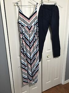 Maternity Clothes dress and jean
