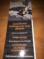 Are you needing  new roof or roof repair.