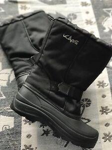 Snow boots 38 8 black Kaos Moonee Ponds Moonee Valley Preview