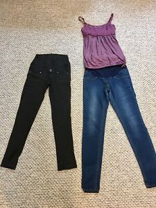 Jeans, Pants and Tank (Lululemon) XS/S/4
