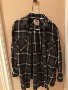 Aritzia boyfriend fit plaid