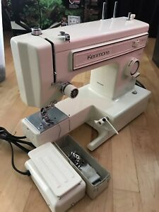 Kenmore vintage sewing machine. Model 158. 12120