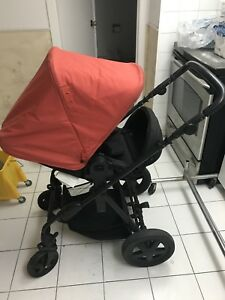 Baby stroller car seat & rocker