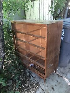 Dresser with no drawers