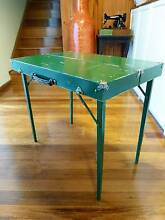 VINTAGE MID CENTURY WOODEN FOLD UP TRAVEL TABLE Old Toongabbie Parramatta Area Preview