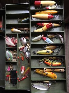 Wanted old fishing lures