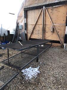 Angle work bench